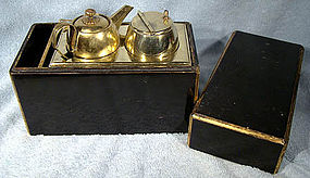 Antique JAPANESE LANTERN LAMPLIGHTER KIT IN BOX