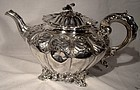 Scarce WILLIAM IV ENGLISH STERLING TEAPOT 1836